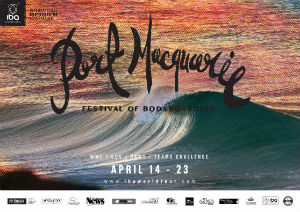 Port Macquarie Festival of Bodboarding poster