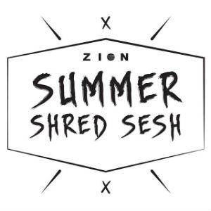 Zion Summer Shred Sesh poster