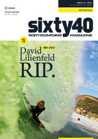Sixty40 Bodyboarding Magazine - issue #15