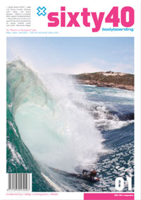 Sixty40 Bodyboarding Magazine - issue #01