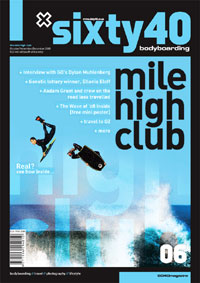 Sixty40 Bodyboarding Magazine - Mile High Club