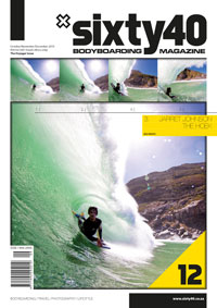 Sixty40 Bodyboarding Magazine - issue #12