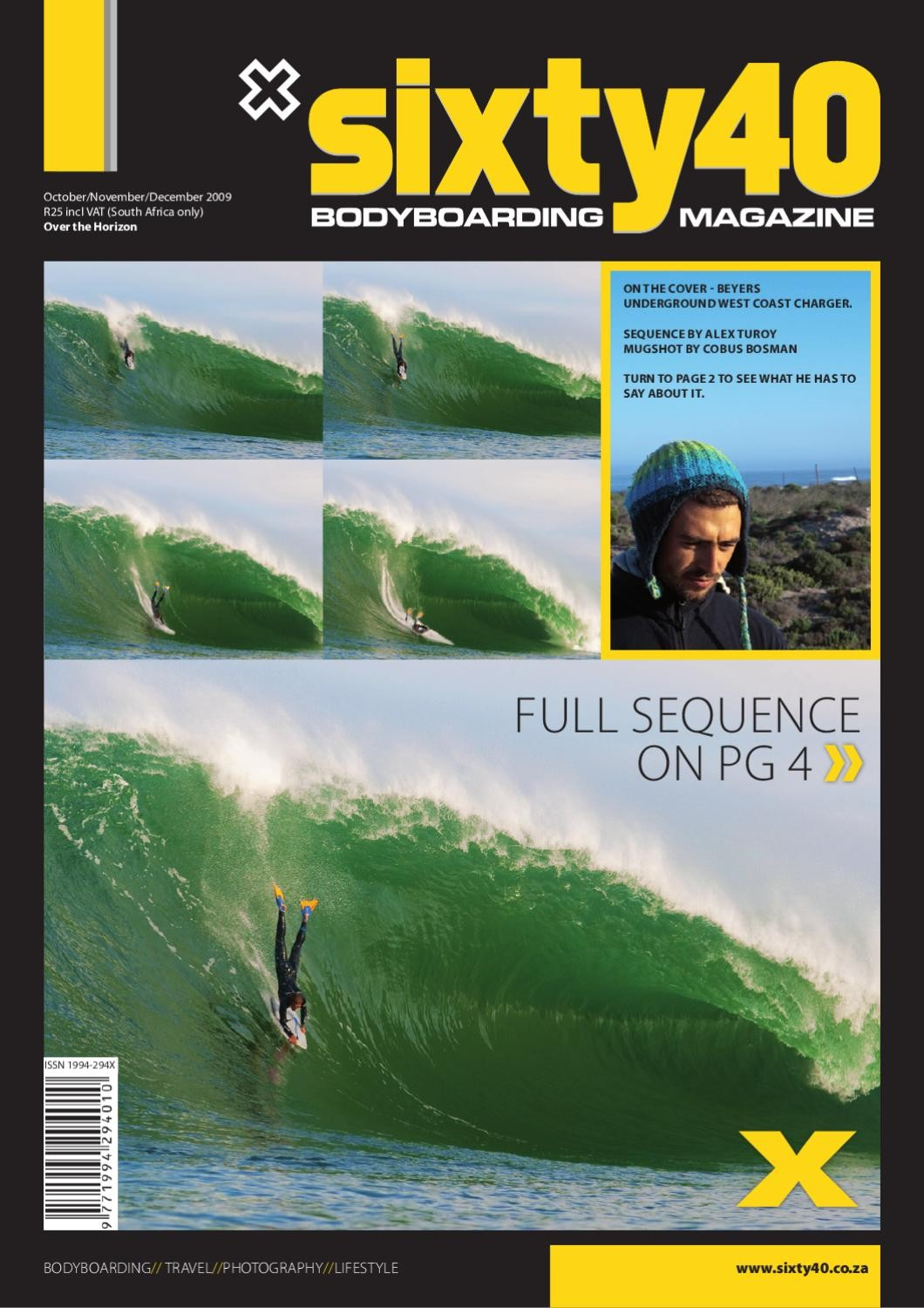 Sixty40 Bodyboarding Magazine - issue #10 - page 1