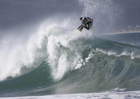 Samuel (sampi) Kamffer at The Wedge (Plett)