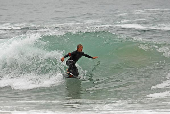 Grant van der Wagen at The Wedge (Plett)