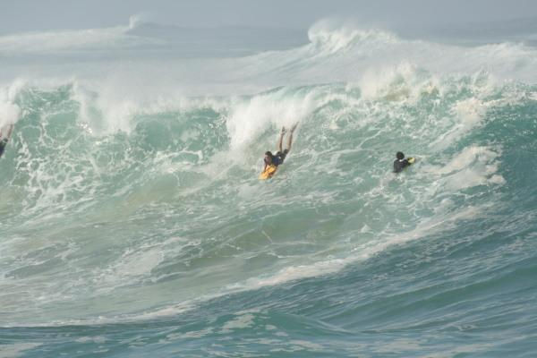 Charles Pass at Waimea Shorebreak