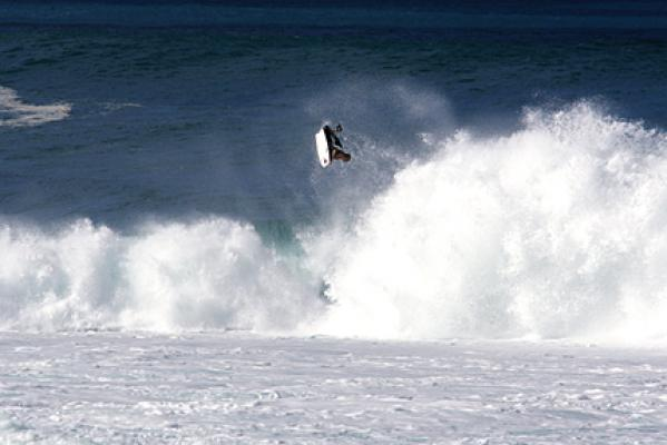 Dave Winchester at Pipeline