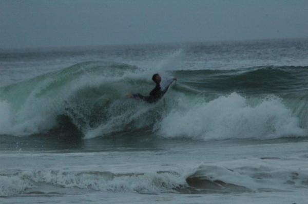 Juan Du Plessis, Back flip at The Wedge (Plett)