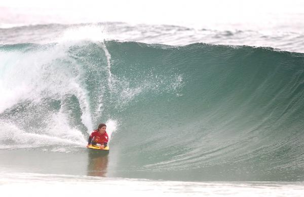 Rita Pires, Bottom turn at Costa de Caparica