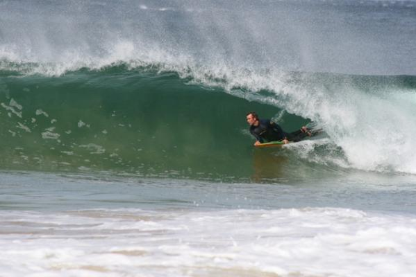 John Bozman at The Wedge (Plett)