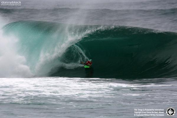 Alistair Taylor, Tube/Barrel at Pipeline