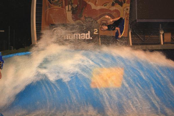 Michael Ostler, Reverse air at Wavehouse (Durban)