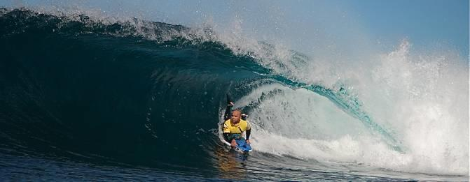 Dave Ballard, Tube/Barrel at Shark Island
