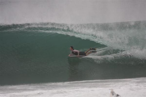 Kobus Blom, Bottom turn at Westbrook