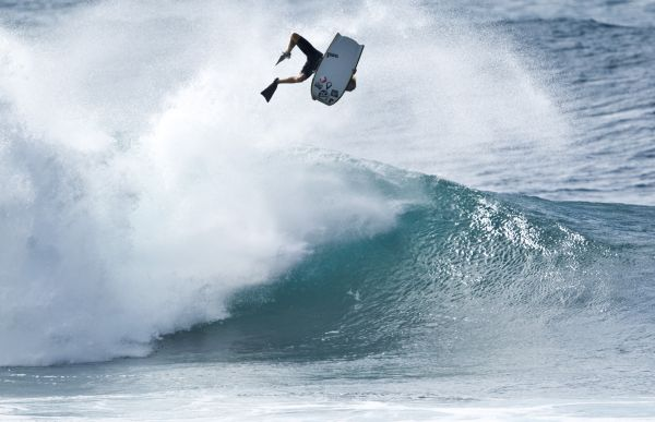 Jeff Hubbard, ARS (Air Roll Spin) at Pipeline