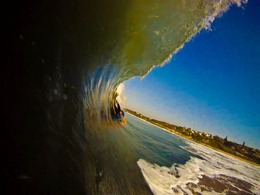 Brendon van Rooyen, Tube/Barrel at gardens