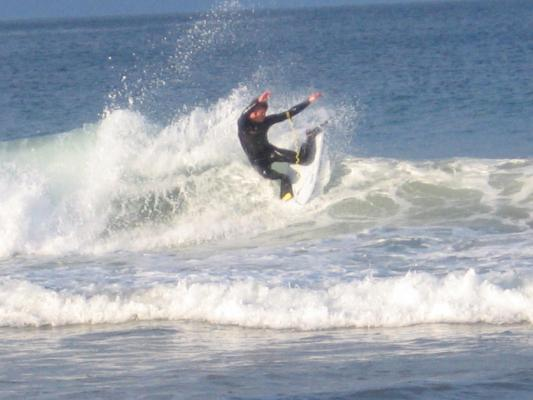 Chris Bosman at The Wedge (Plett)