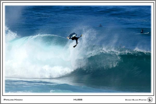 Jeff Hubbard, invert at Pipeline