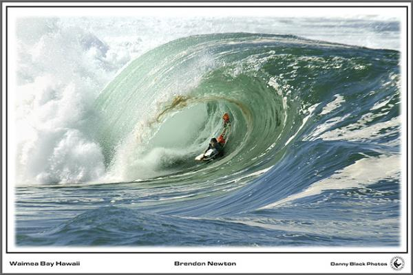 Brenden Newton at Waimea Shorebreak