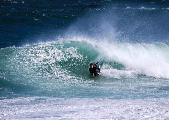 Tim van Wieringen, trim at Glen Beach