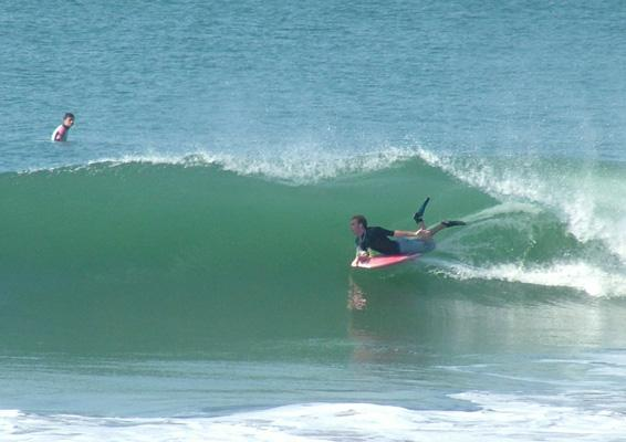 Neil Steenkamp, tube/barrel at Alkantstrand