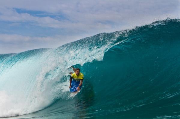 Mark Watts, tube/barrel at Pipeline