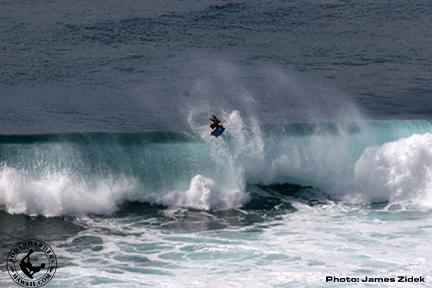 David Phillips at Honolua Bay
