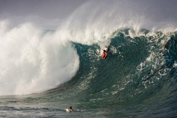 Ivan Friedman at Waimea Shorebreak