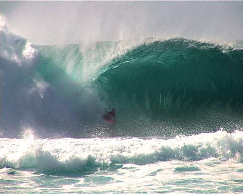 Mike Stewart at Pipeline