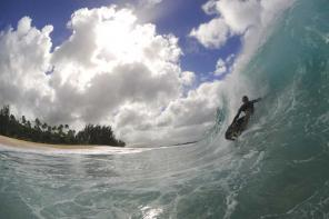 Sean Tickner :: Dk barrel time at Keiki...